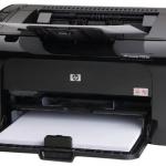 Описание принтера HP LaserJet Pro P1102w