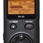 Описание диктофона Tascam DR-05