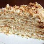 Торт на сковороде со сгущенкой рецепт с фото