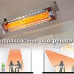Электрические инфракрасные обогреватели потолочные