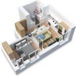 Онлайн планировка комнаты, квартиры, дизайн интерьера