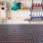 Теплый пол водяной схема подключения к терморегулятору, к котлу