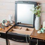 Столик для макияжа виды, форма, освещение