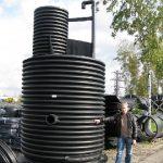 Пластиковые канализационные колодцы — обустройство канализации