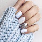 Красивый зимний дизайн ногтей новинки — Зима 2019