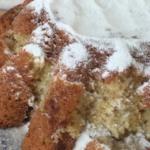 Творожный лимонно-банановый кекс пошаговый рецепт с фото