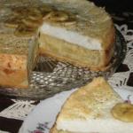 Торт — Банановый идеал рецепт