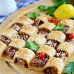 Пирог — Шахматная доска рецепт