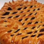 Рецепт пирога с вареньем