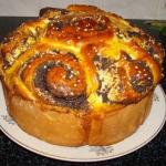 Пирог с маком рецепт с фото