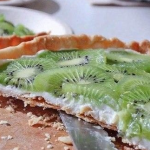 Миндальный пирог с киви рецепт