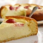 Рецепт творожного пирога с бисквитным тестом