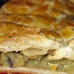 Пирог с грибами рецепт