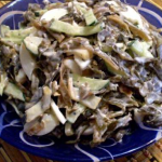 Рецепт салат с кальмарами