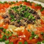 Салат с консервами рыбными рецепт с фото