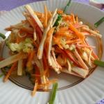 Салат с крабовыми палочками рецепт с фото очень вкусный