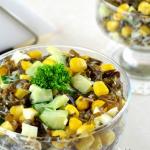 Салат с яйцом и свежим огурцом простой рецепт