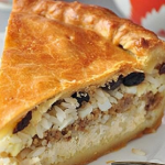 Пирог в духовке с фаршем
