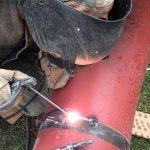 Сварка трубы электросваркой оцинкованные, тонкостенные, водопроводные