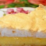 Пирог с творогом — Улыбка ангела рецепт