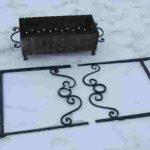 Мангал своими руками чертежи мангалов из кирпича, из металла
