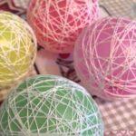 Новогодние шары своими руками из ниток и клея инструкция, советы