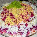 Под шубой салат