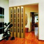 Межкомнатные двери гармошка, установка своими руками, видео