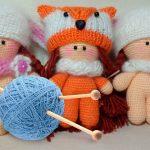 Фото и видео вязание игрушки крючком для начинающих