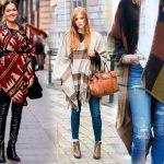 Спицами пончо схемы и описание вязание для женщин