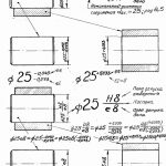 Обозначение допусков и посадок на чертежах допуски формы и расположения