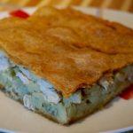Пирог с курицей и картошкой в духовке пошаговый рецепт с фото