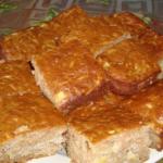 Яблочный пирог на скорую руку рецепт