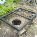 Сливная яма из покрышек – бюджетный вариант