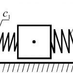 Последовательное соединение пружин жесткость, формула