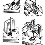Пространственная разметка инструменты, приспособления, приемы