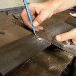 Разметка изделий и заготовок из металла инструмент, способы, правила