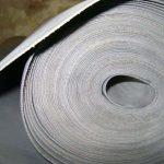 Резина листовая пористая, силиконовая, маслобензостойкая