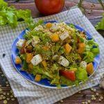 Салат с чечевицей рецепт с фото простой и вкусный