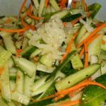 Салат из огурцов по корейски