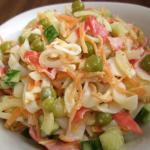 Салат из крабового мяса рецепт с фото очень вкусный