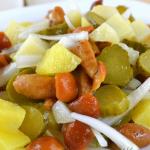 Салат с маринованными опятами рецепт с фото