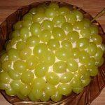 Салат — Тиффани — с курицей и виноградом