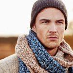 Какие мужские шарфы в моде зимой