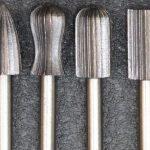 Шарошка абразивная по металлу для дрели, гравера