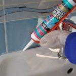 Сколько сохнет силиконовый герметик (санитарный, универсальный) как ускорить процесс