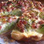Пирог с капустой брокколи