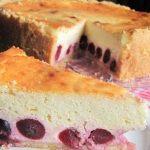 Пирог с творогом в духовке рецепт с фото_1
