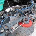 Подметально-уборочные машины убирает умная машина