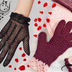 Перчатки крючком — схема и описание